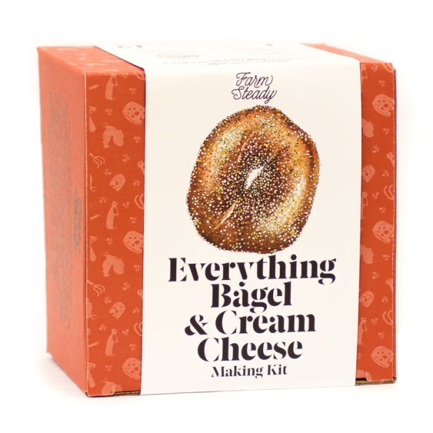Everything Bagel & Cream Cheese Making Kit